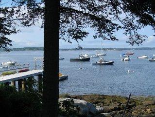 Spruce Head Island, Penobscot Bay Shorefront Cottage
