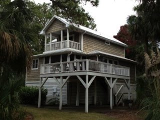 The House in the Middle of the Action - Fripp Island