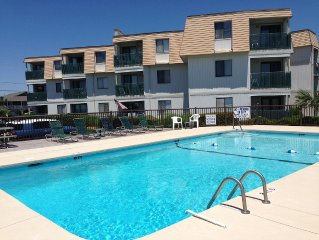 Southernmost Condo Complex in Garden City with Wide Un-Crowded Beach!