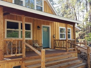 Newly Renovated Charming Vintage Cottage Retreat – Private on 40 Acres
