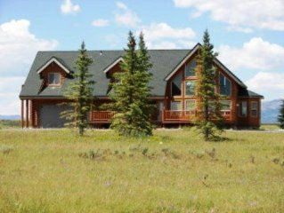 Scotts Lakeview is a Beautiful Cabin On Island Park Reservoir, Mountain Views