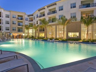 Sunny, Resort Style Amenities, The Domain, City Center, Experience Service!