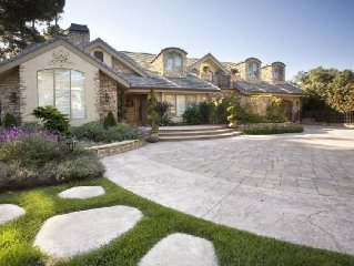 Family Friendly Pebble Beach Estate- September Special Discount