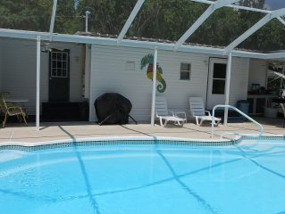 Mermaid Manor Weeki Wachee River Canal Pool Home