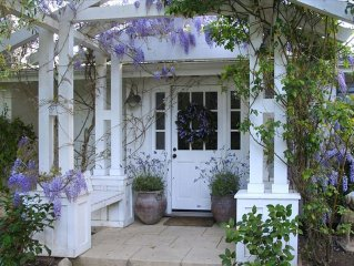 Charming Cottage in Montecito Featured in Pottery Barn