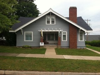 Beautiful Craftsman home 300' from Lake Charlevoix Public Beach