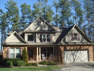 Clemson/Lake Hartwell house - big water views, dock, 10 minutes to Clemson