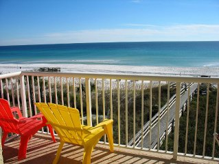 Right ON Ocean! March 25-April 1 DEAL! FREE Beach Service-Amazing Views-1 of 10!