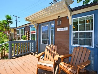 Tamarack Cottage at Villagio Carlsbad Cottages – 1 of 7 homes steps to beach