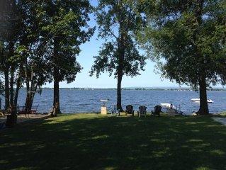 Large Family Rental on Lake Champlain, New York! 'Life is Good'