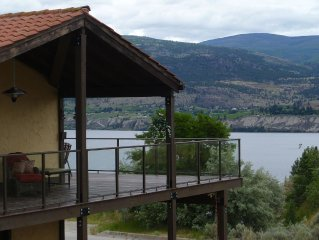 Okanagan Get Away, Perched Over The Lake And Wine Country-Lake View Suite