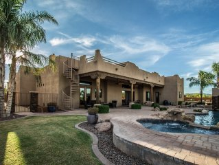 Must See! Lavish Family Desert Oasis with Private Pool