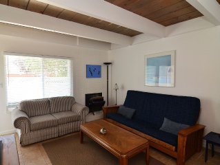 Beachside Aptos Getaway - 2BR - Quick Walk to Beach, Pet Friendly