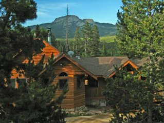 Log Home with Mnt Views and Hot Tub on 2 Acres