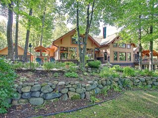 5100 Sq. foot Beautiful Timber Frame Home with detached 1000 Sq. Foot Bunk House