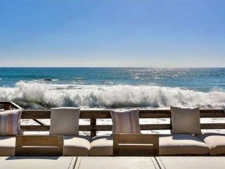 Last Minute Booking Discount: Beachfront Cottage Home in Malibu on Sand