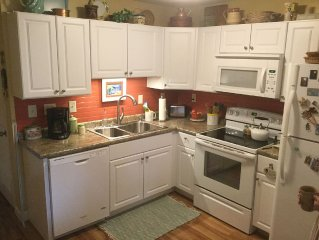 WALK TO THE BEACH!!  Condo Fully Renovated in 2016