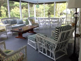 Vacation in Classic Cape Cod style within walking distance to 2 beaches