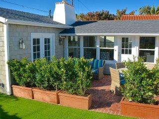 LA JOLLA SHORES, THE VERY BEST! Elegant Coastal Cottage, Sleeps 4