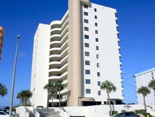 Daytona Beach Sand Dollar 10th Floor Direct Oceanfront 2 Bed, 2 Bath Condo