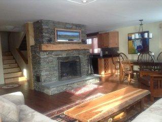 Luxury Slope-Side Ski House at Sugarbush Resort