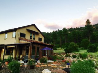 Stunning eco-home to nurture rest, romance, good health and adventure!