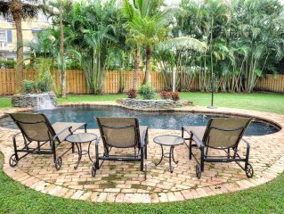Stunning Delray Beach Home Just Renovated Great Pool Minutes to Beach & Atlantic
