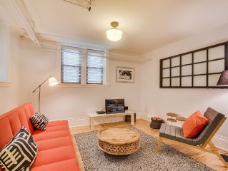 2 Bedroom Urban Nest in Brick Brownstone