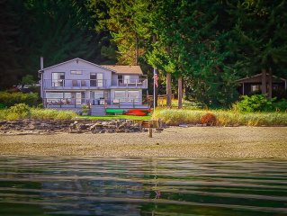 Video! Beachfront Vacation On The Most Amazing Mountain View Beach In The NW