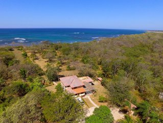 Oceanview  home with private beach trail.