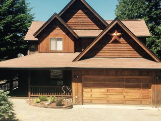 New Listing! High Quality Home & Best View of Mt Rainier in Packwood