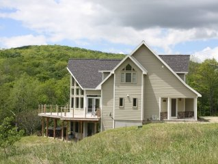 Modern  Chalet Near Ellicottville, Holiday Valley and Holimont