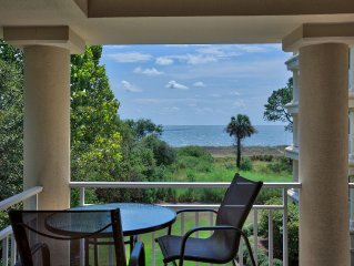 Great for Families! Lovely Ocean Front Villa; Cart; 4 bunk beds + King & Queen