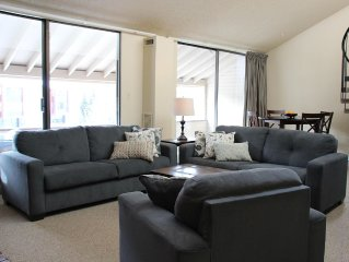 Center Village, Quick Walk To Lifts - 3 Br / 2 Bath 1500 Sq Ft Condo