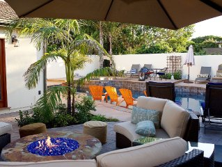 JASMINE CASITA WITH OWN ENTRANCE &  PARKING; A/C; POOL; LUXURY TRANQUIL OASIS