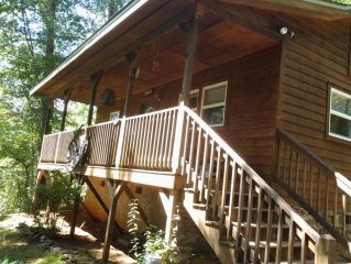 COMPLETLY FURNISHED HOME/CABIN APPROX 1 MI UP THE MOUNTAIN-MINUTES TO: TUCKASEGE