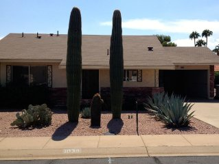 Leisure World Mesa AZ Adult Resort/Tennis/Golf home with golf cart