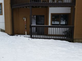 Mountain Lodge at Okemo-Ski in/Out. C Building.Parking at Unit