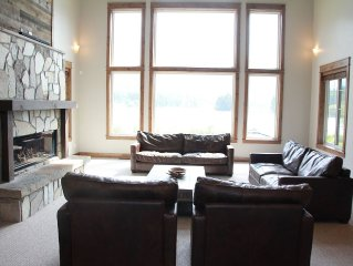 New Cabin On Lake Blaine Near Glacier National Park and Whitefish Ski Resort!