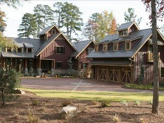 Unique Luxury Lakefront 5/BR/Pool/Guest House*on Lake Oconee