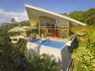 4 Bedroom Modern Tropical Home, Ocean Views w/ 2 pools, Sleeps 8-10