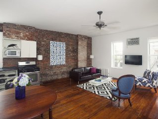 FEBRUARY SALE:Hip Stylish 2 Bdrm Artist Loft. Spacious/Clean, 5 min to Times Squ