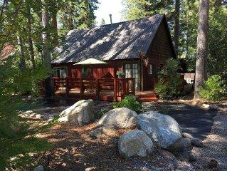 Charming West Shore Cabin at Lake Tahoe, California
