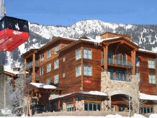 20-40% Off Most Weeks (Teton Club) Ski-in/Out to Tram, Gondola, Ski School