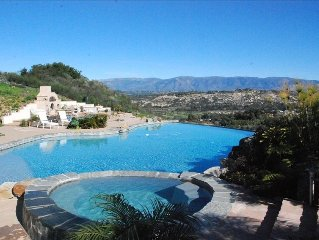 N.E. San Diego,  Private Resort, Secluded, LARGE Salt Water Pool, Water Slide