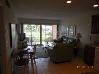 Ocean, Golf, Tiki Bar, Resort Living Is All Here In This 1 Bedroom Condo