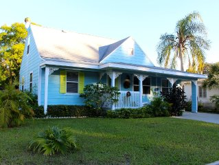 Dunedin Cottage + Apartment close to Blue Jays Field, Clearwater/Honeymoon Beach