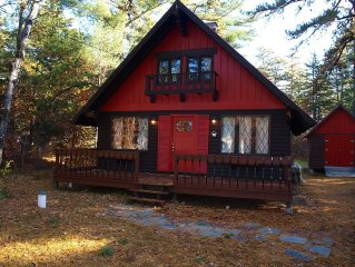 Family Friendly Cabin Nestled in Chocorua Ski and Beach- enjoy the outdoors!