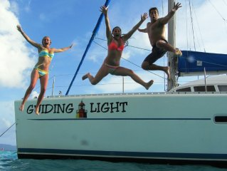'Best vacation ever' on a sailboat in the Caribbean aboard the Guiding Light