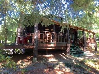 Historic Log home on Private Adirondack Lake